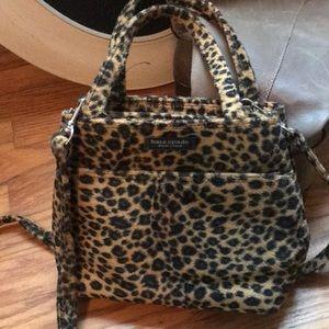 Kate Spade small faux fur crossbody bad/purse